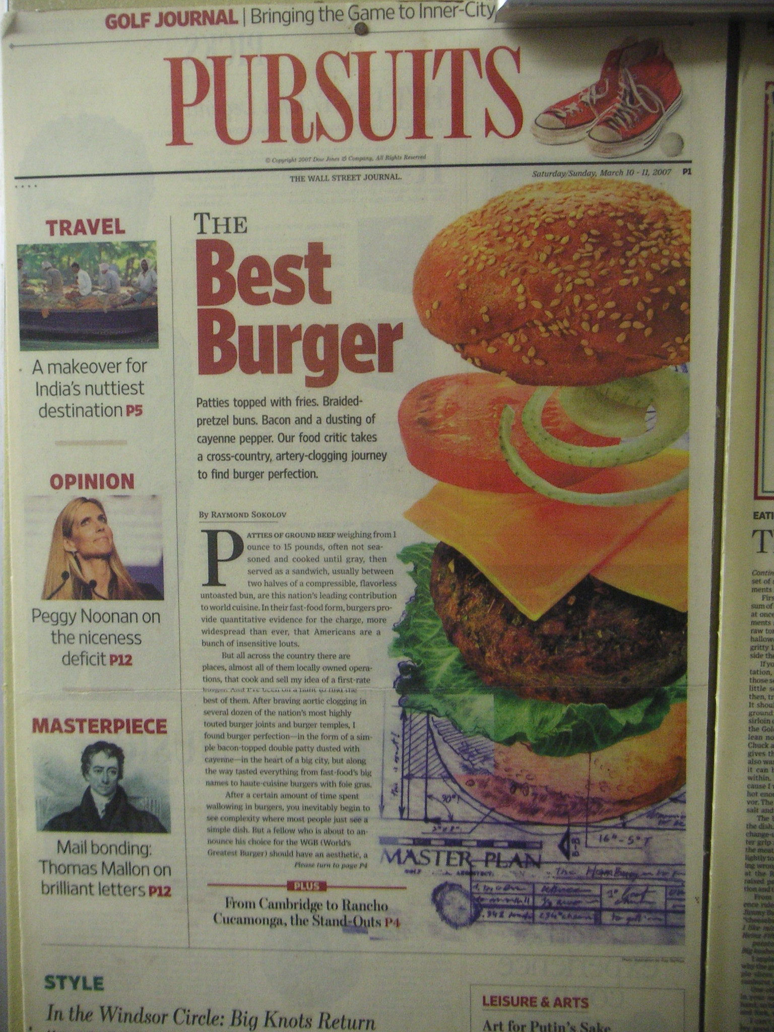 BEST BURGER ARTICLE ON MS. ANN'S SNACKBAR